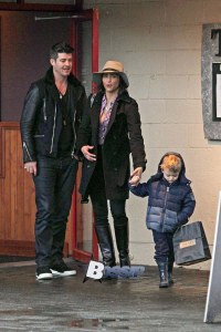 *EXCLUSIVE* **NO WEB** Robin Thicke and Paula Patton reunited - Part 2**NO Canada, Germany, Austria**