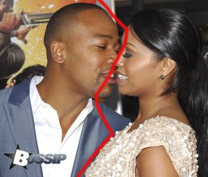 Columbus Short and guest