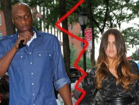 Khloe Kardashian and Lamar Odom attend Lamar's daughter Destiny Odom's graduation in NYC