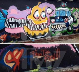 Chris Brown Graffiti