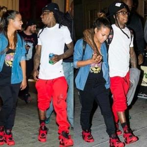 Christina Lil Wayne 1
