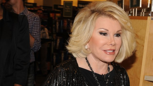 "Joan Rivers Book Signing For ""I Hate Everyone... Starting With Me"""
