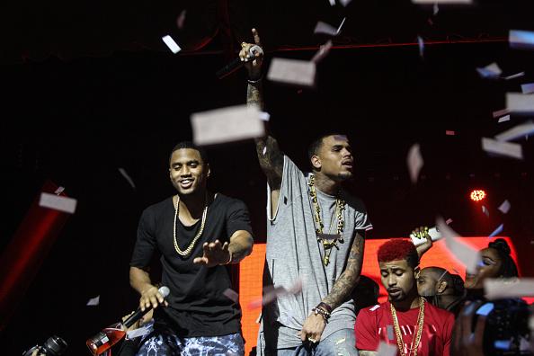 Chris Brown Hosts Liv On Sundays