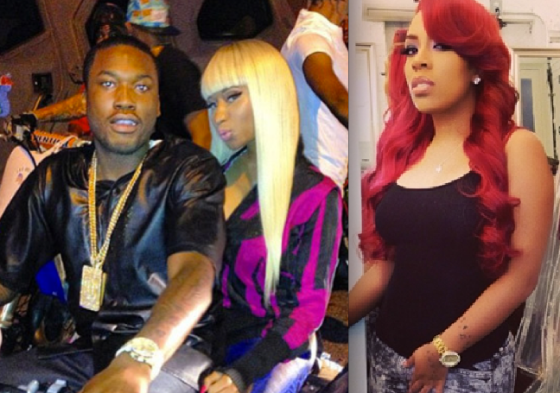 K Michelle And Meek Mill #DimeTime News: K. Mic...