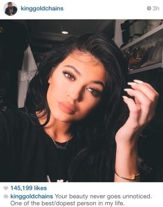 Tyga Instagram Kylie
