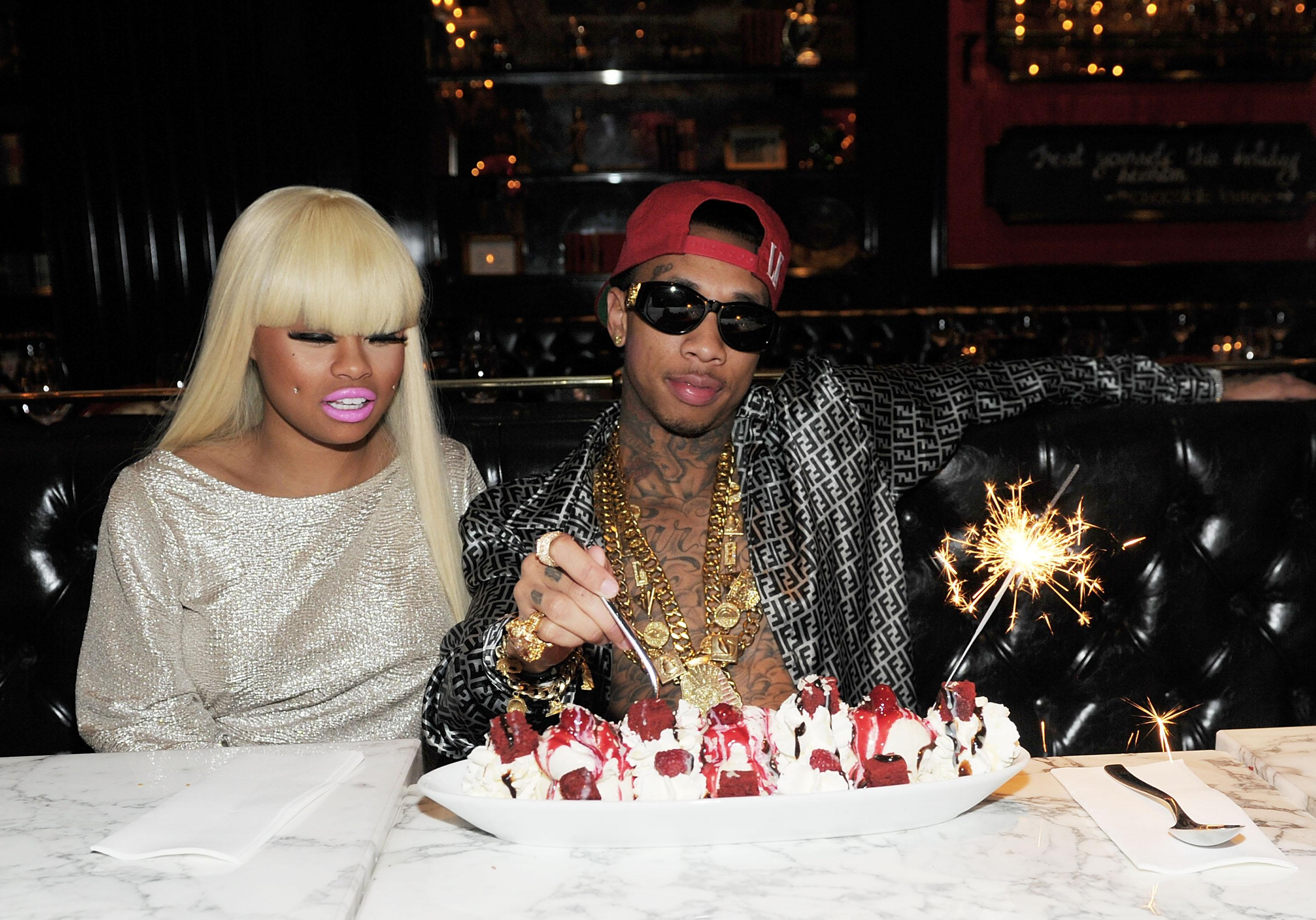Tyga Celebrates A Sweet Birthday At Sugar Factory In Las Vegas