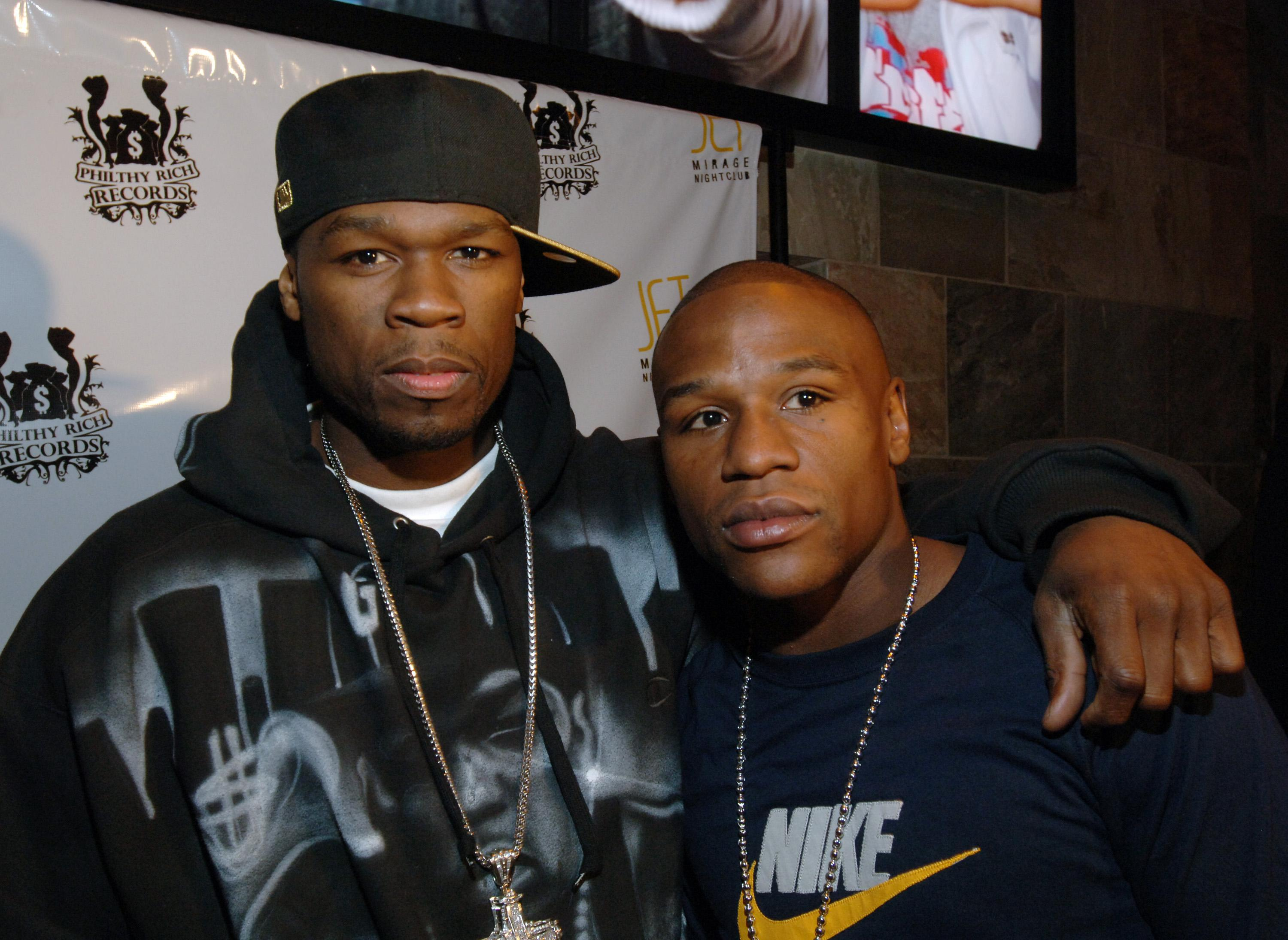 Floyd Mayweather Jr.'s 30th Birthday Party - Red Carpet at JET Nightclub at The Mirage Hotel and Casino Resort