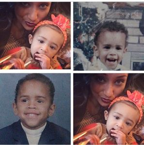 Chris Brown Baby