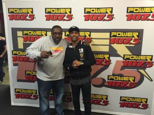 Power 107.5 Big Sean Meet and Greet April 19, 2015