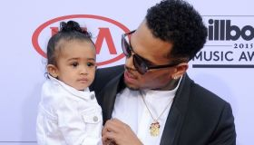 Chris Brown & Baby Royalty