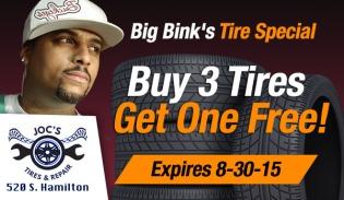 Big Bink's Tire Special