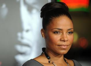 Actress Sanaa Lathan arrives at the prem