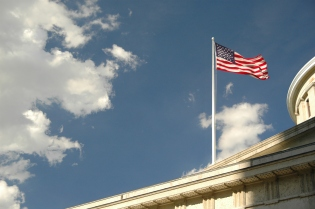 State flag @ Columbus (Ohio, USA)
