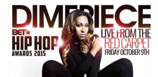 DJ Dimepiece 2015 BET Hip Hop Awards