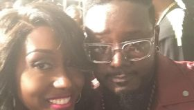 DJ Dimepiece and T-Pain