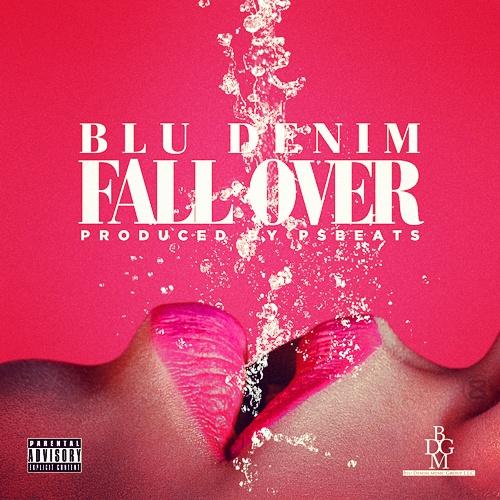 blu denim 'fall over'