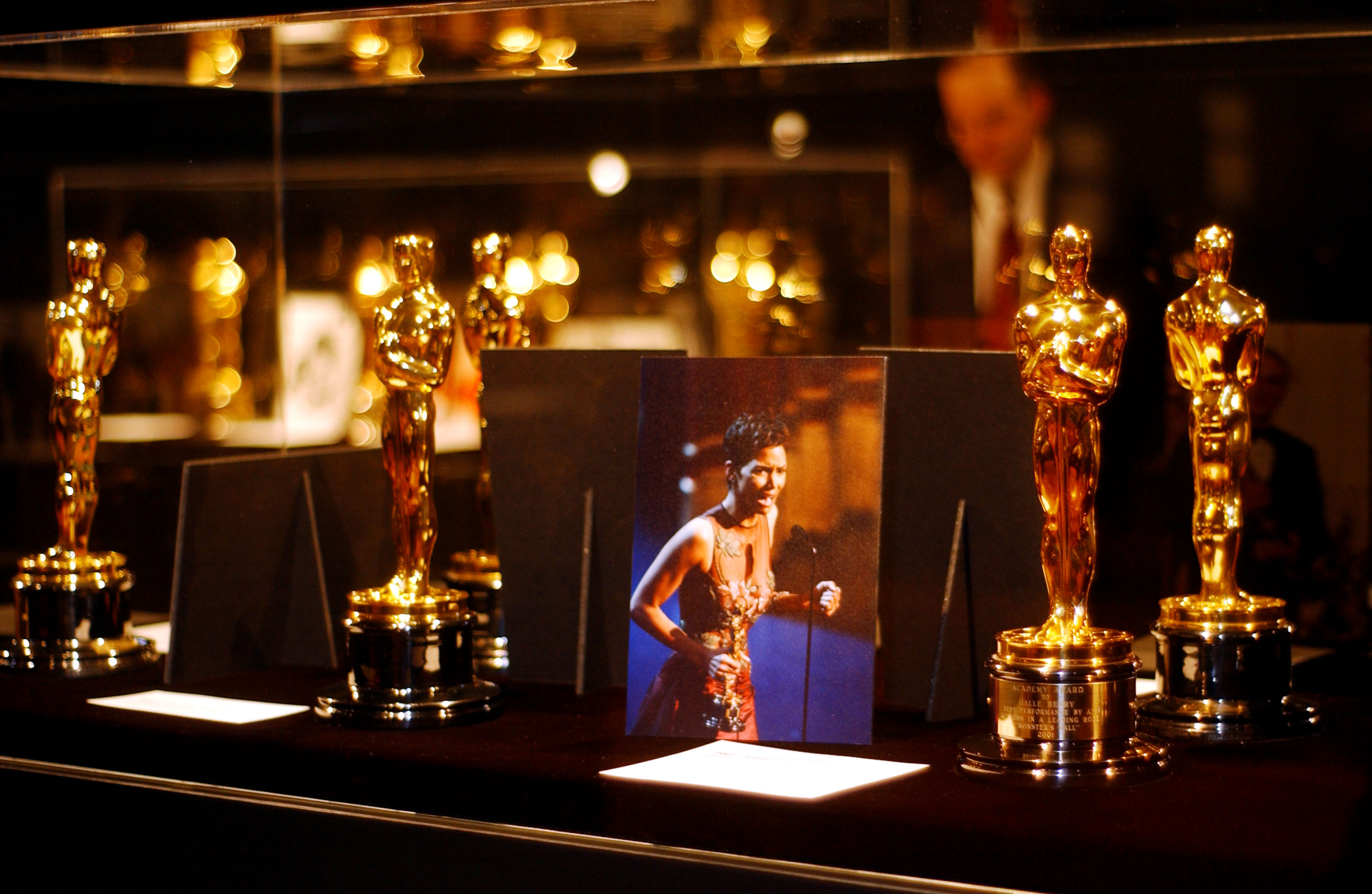 Oscars Exhibited in Beverly Hills