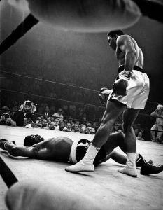 Mohammed Ali Vs Sonny Liston. 1965.