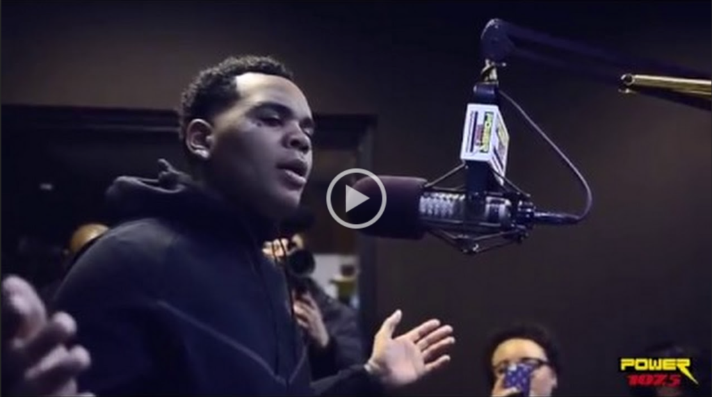 Kevin Gates interview at Power 107.5