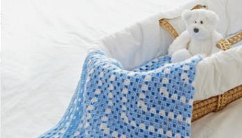 baby blanket bassinett