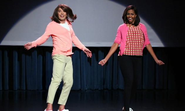 Michelle Obama & Jimmy Fallon