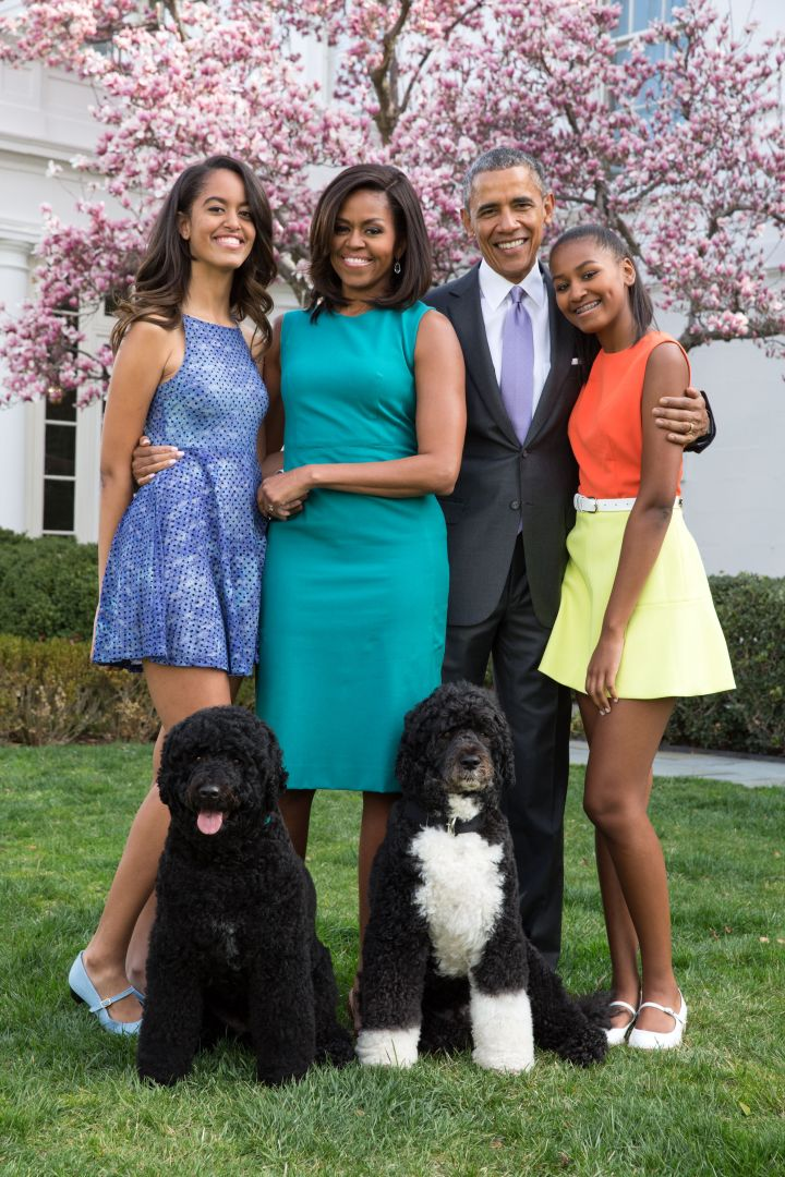#11 The Obama Family Portraits