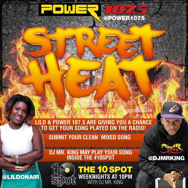 Street Heat - WCKX - Official Rules