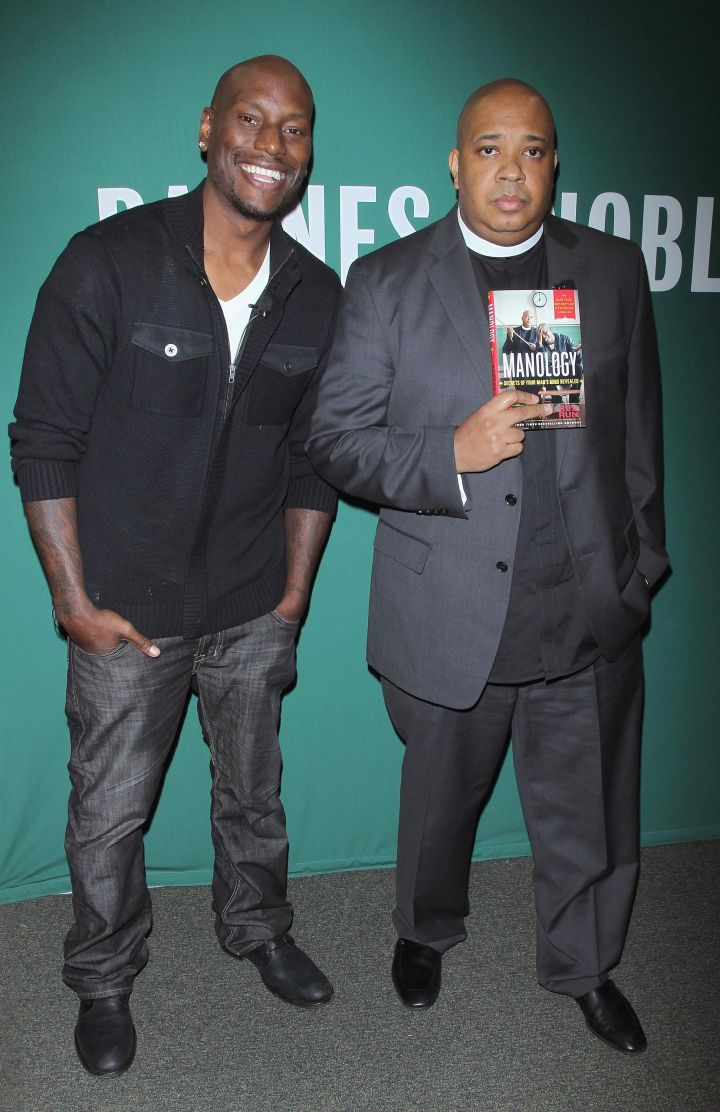 """Tyrese and Rev Run's """"Manology"""" Promotional Tour"""