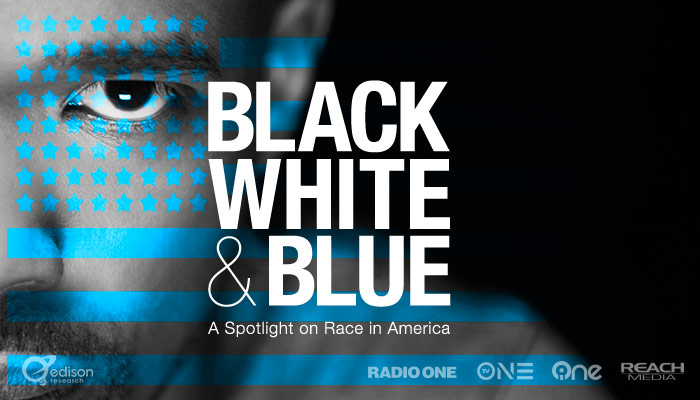 Black White And Blue
