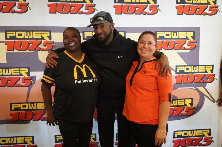 Rickey Smiley Morning Show Columbus Tour: McDonald's