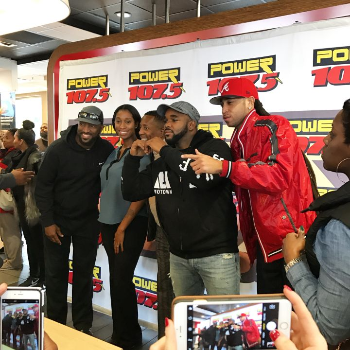 The Rickey Smiley Morning Show Visits Columbus