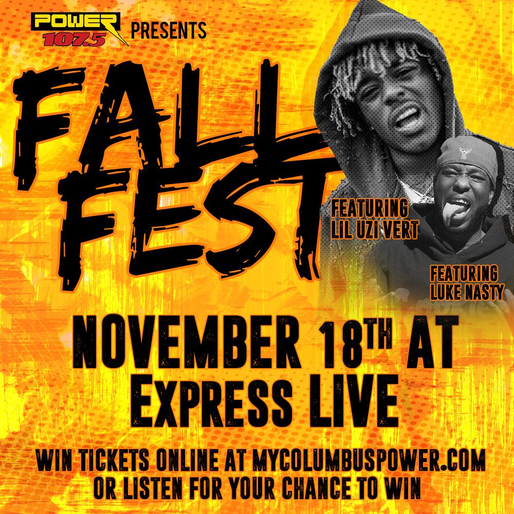 fall fest ticket drop at life skills power 107 5
