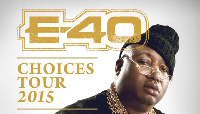 E-40 Concert Event Posting