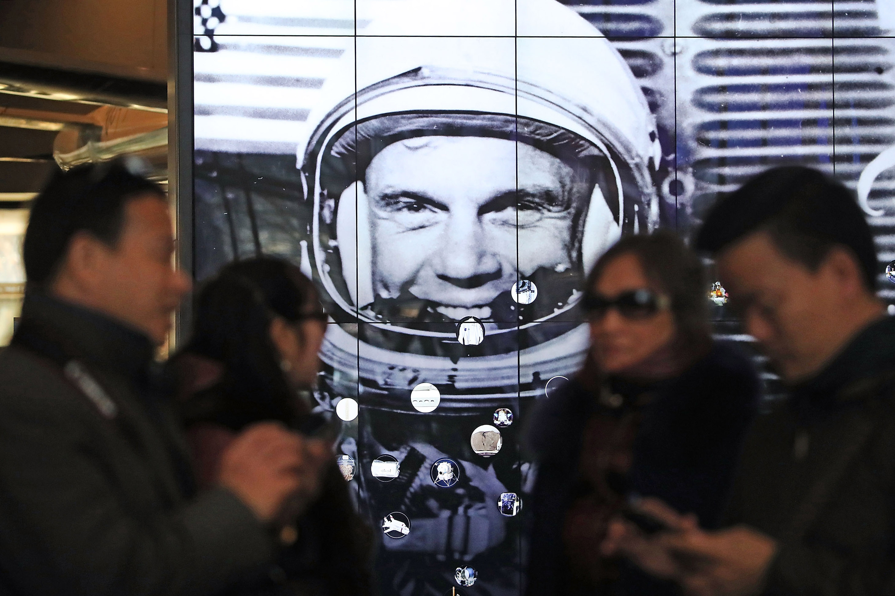 John Glenn Remembered At National Air And Space Museum