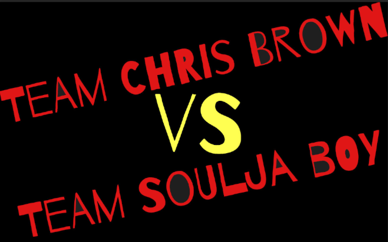 chris brown vs soulja boy