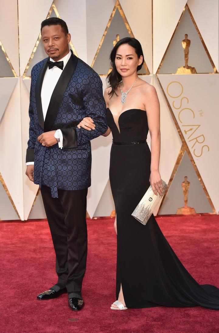 Terrence Howard & wife