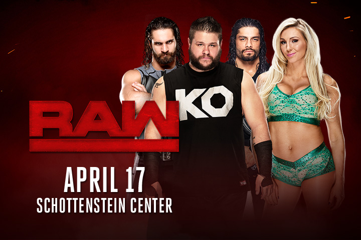 WWE Raw April 2017
