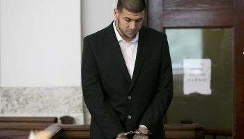 Aaron Hernandez At Attleboro District Court