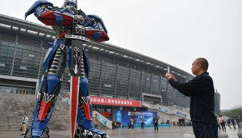 China Luoyang International Robot And Intelligent Equipment Exhibition Opens