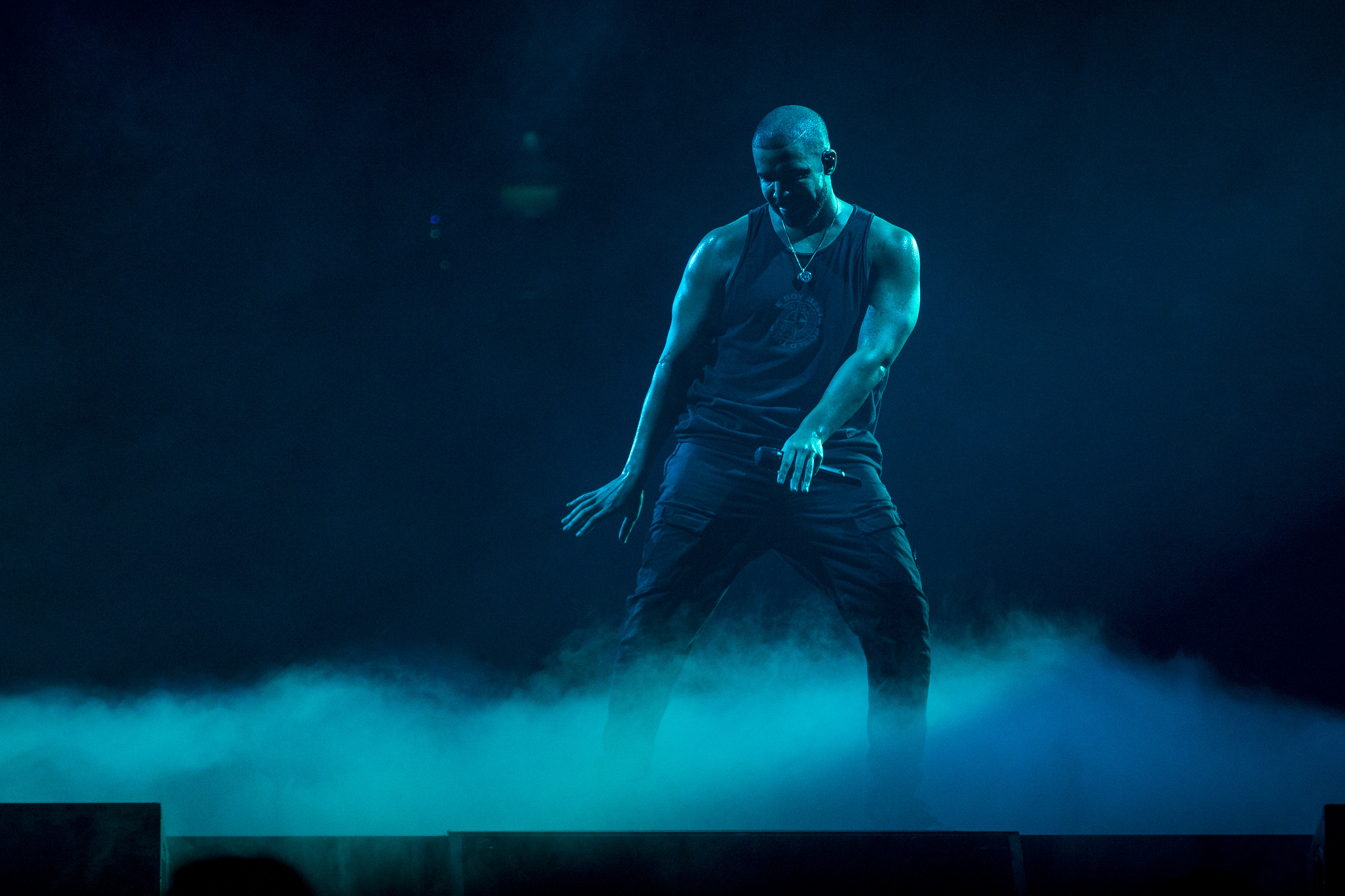 Drake Performs in Concert in Stockholm