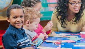 Craft Time in Preschool