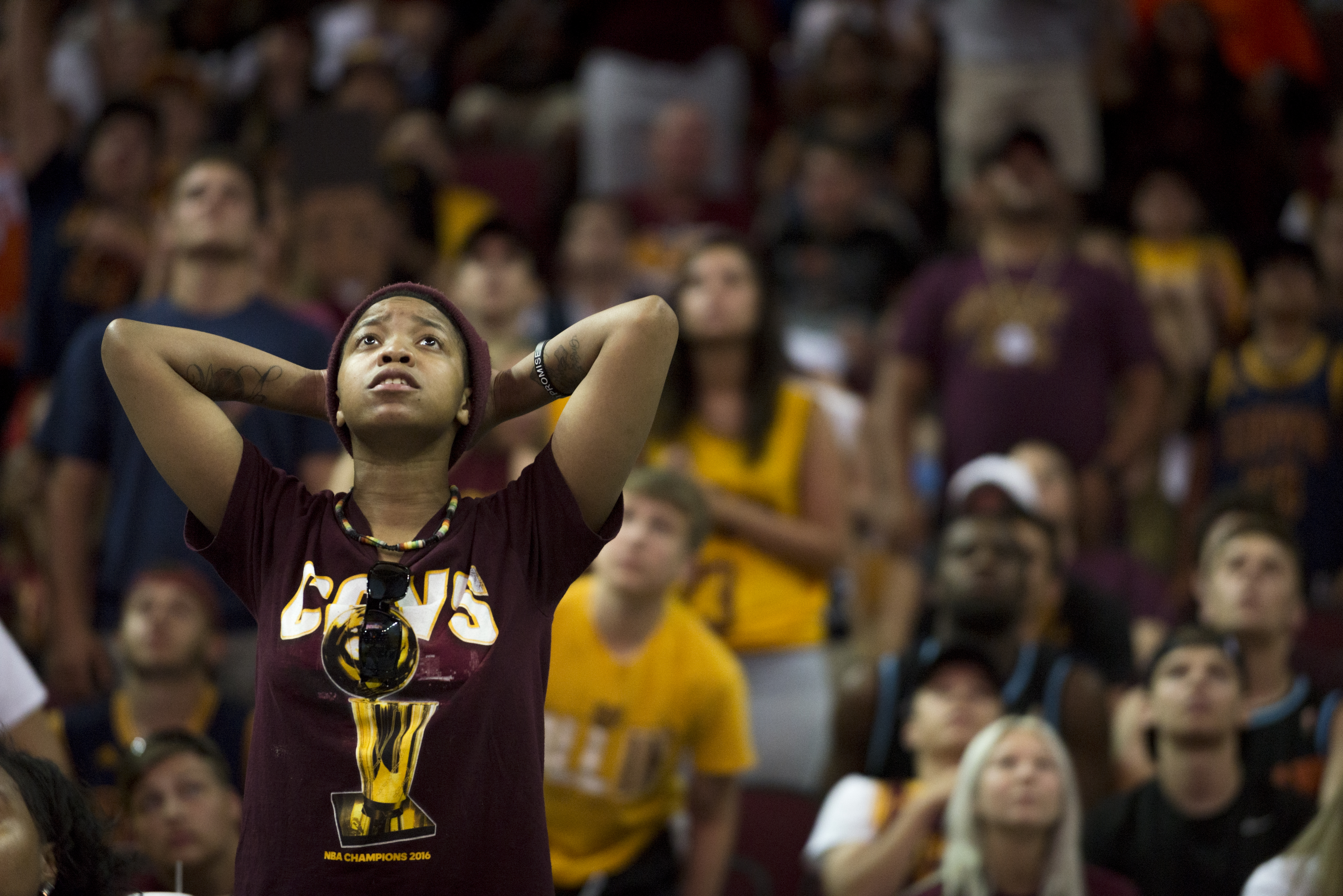 Down 3-1 In NBA Finals, Cleveland Fans Keep Hope Alive