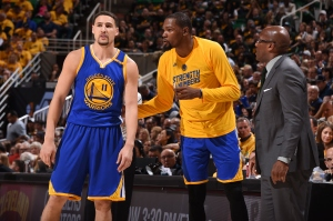 Golden State Warriors v Utah Jazz - Game Three