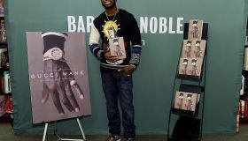 Gucci Mane Signs Copies Of His New Book 'The Autobiography Of Gucci Mane'