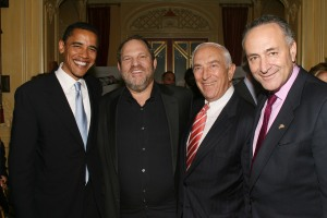 Harvey Weinstein Hosts a Private Dinner and Screening of 'Bobby' for Senators Obama and Schumer