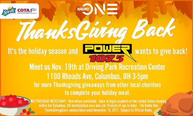 radio one thanksgiving