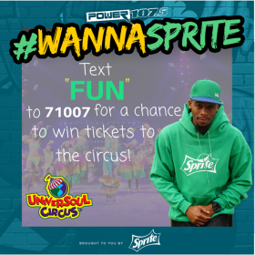 sprite universoul circus sweepstakes