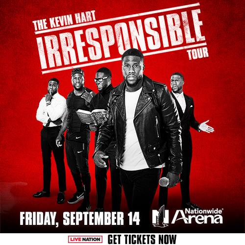 Kevin Hart Irresponsible Tour