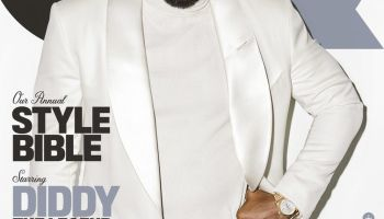 Diddy in GQ Mag cover