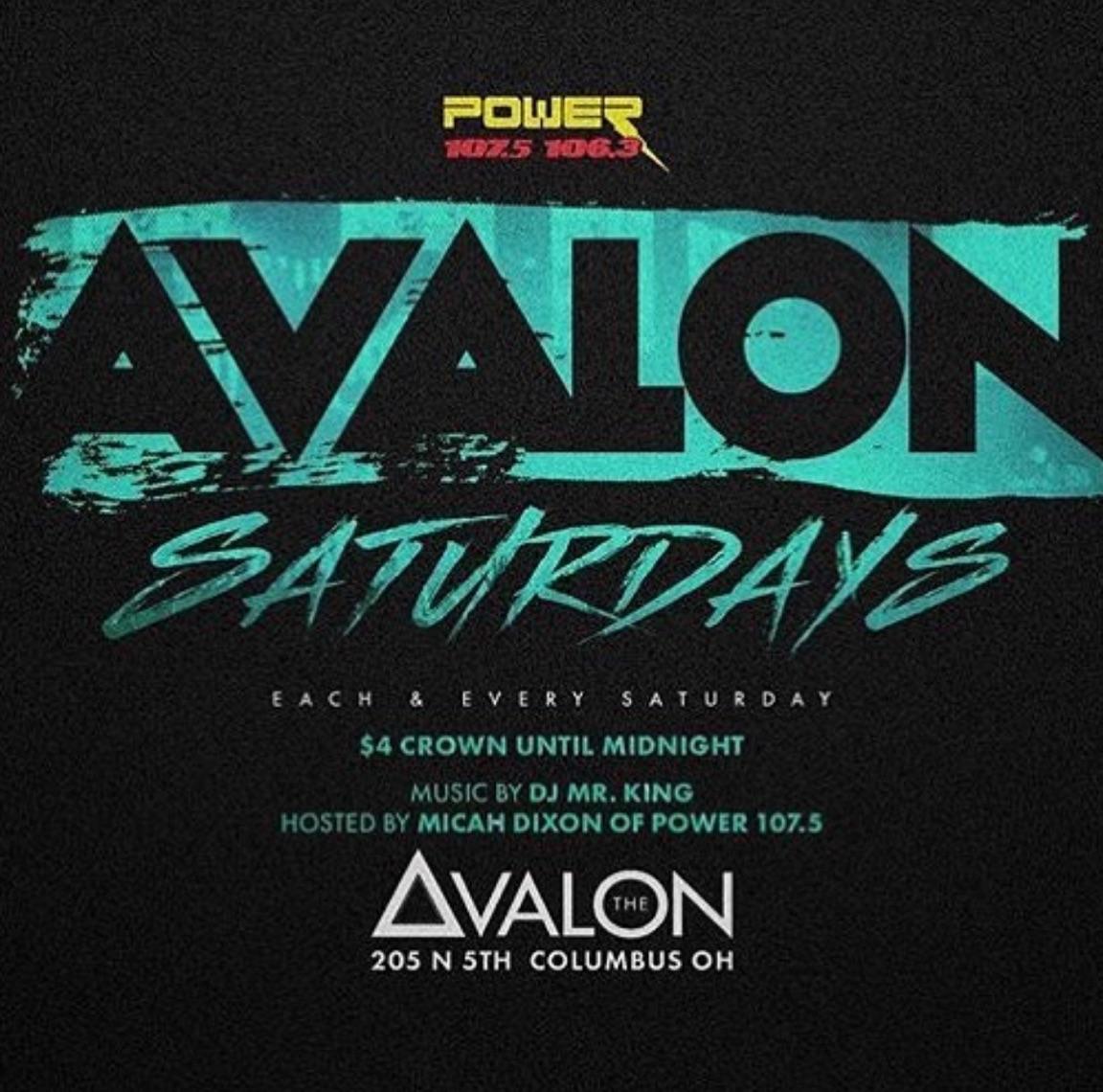 Avalon Saturdays with Micah Dixon